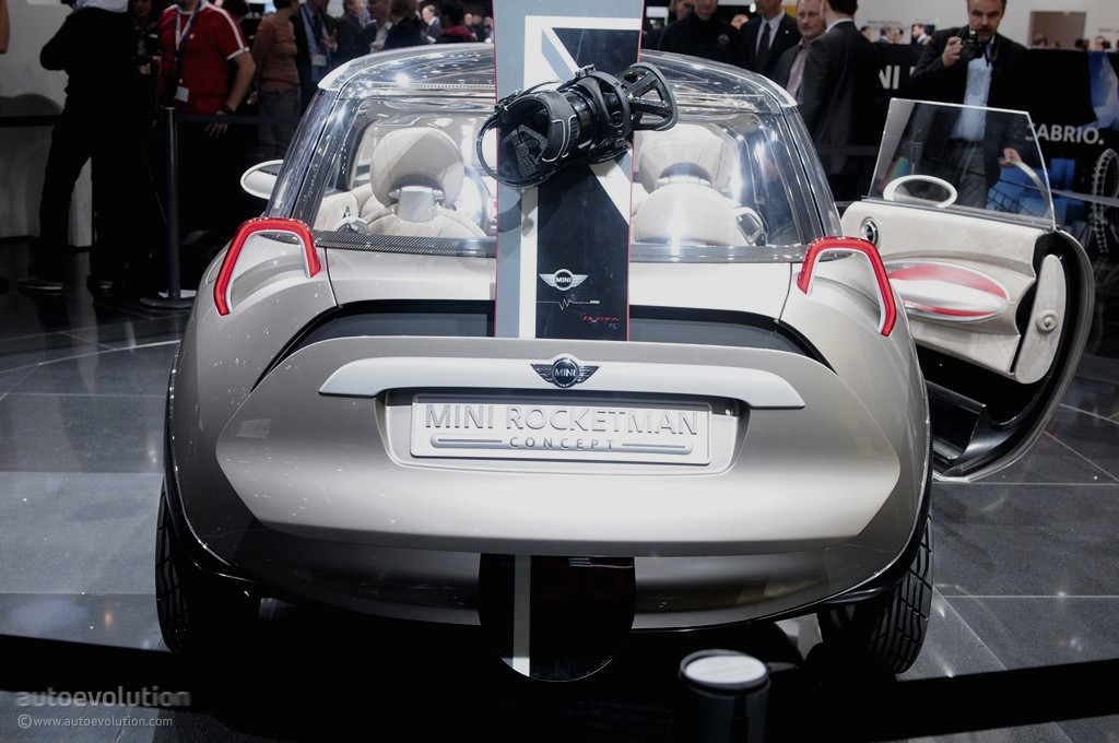 MINI Rocketman and BMW i1 Expected by 2020 - autoevolution