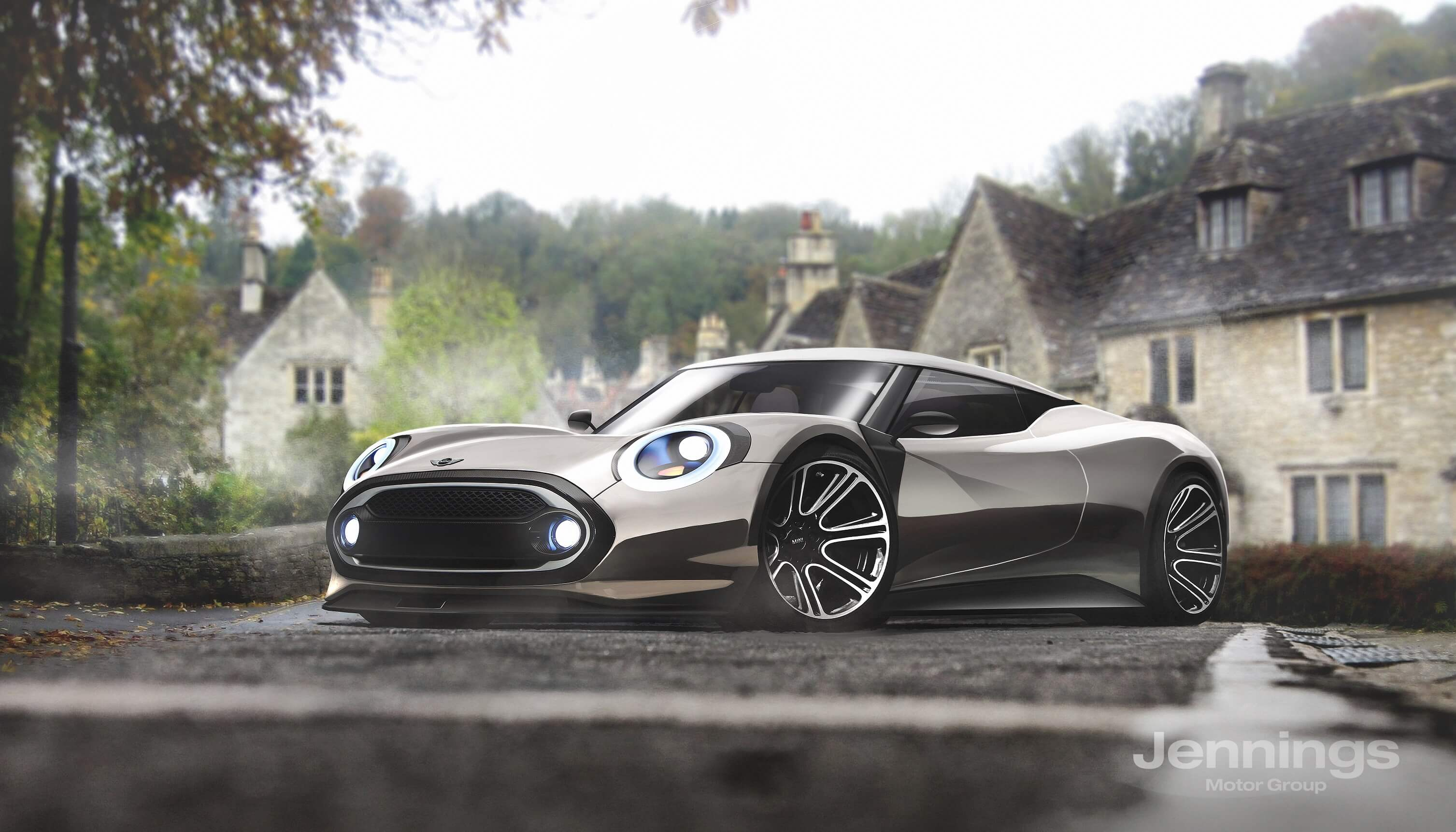 MINI, Smart, Tesla, Kia And Fiat 124 Imagined As Excellent