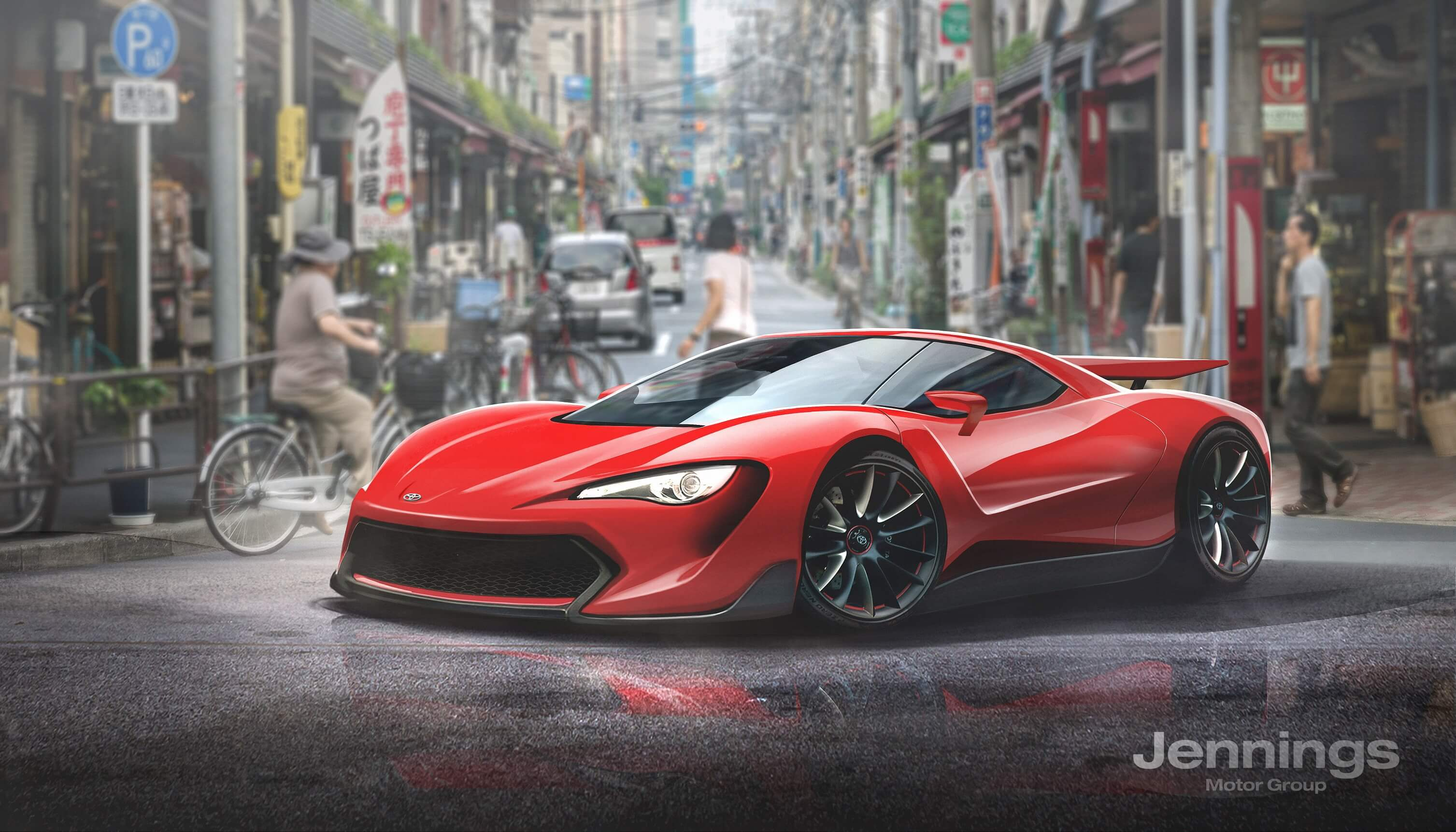 Fiat 124 Targa Rendering Is Inspired By The Mx 5 Rf