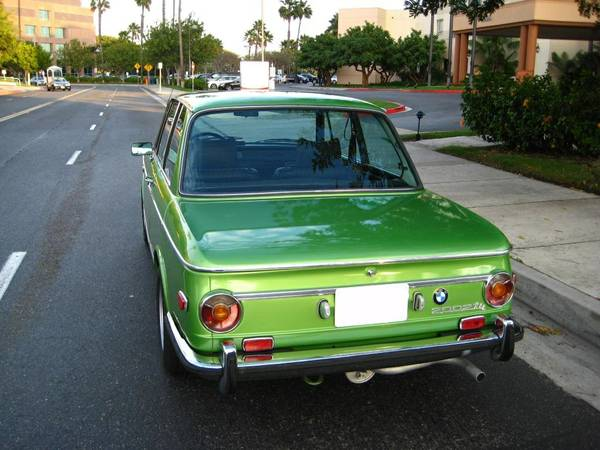Mint 1973 BMW 2002Tii for Sale in South Carolina for ...