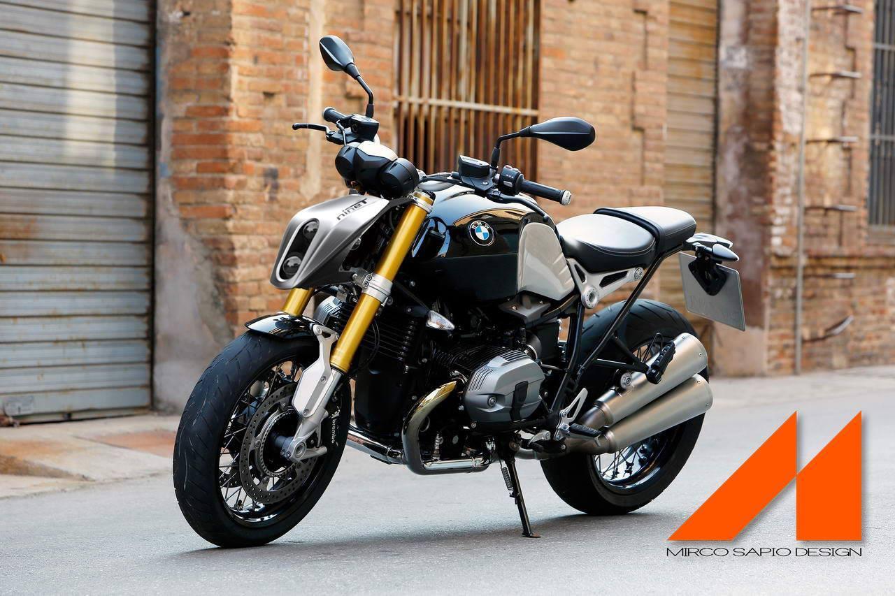 Mirco Sapio Design Custom Headlight Adds Infinite Evil to Any Bike ... for Bike Headlight Design  45jwn
