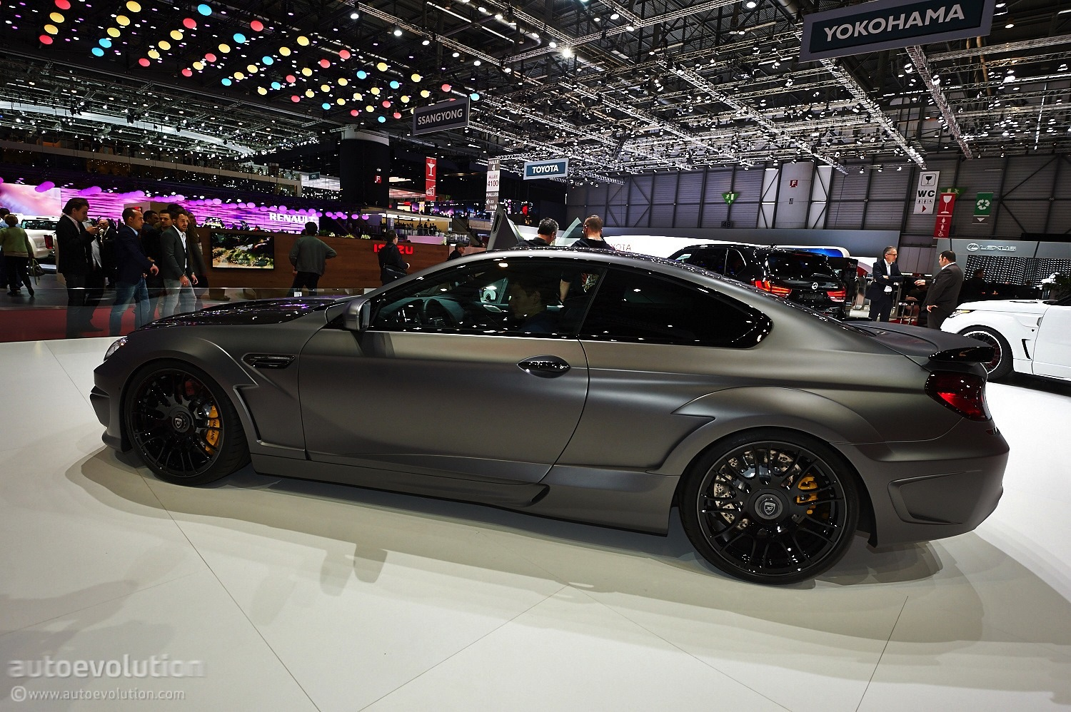Mirror M6 By Hamann Turns Heads At Geneva Live Photos