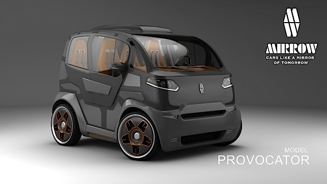 Mirrow Provocator Is An Odd Car That Makes A Few Very Good