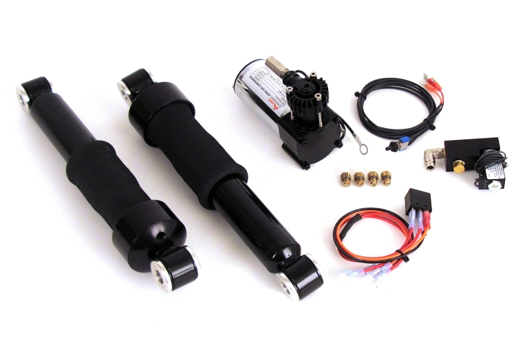 Misfit torpedo air suspension tanks for harley baggers and more autoevolution