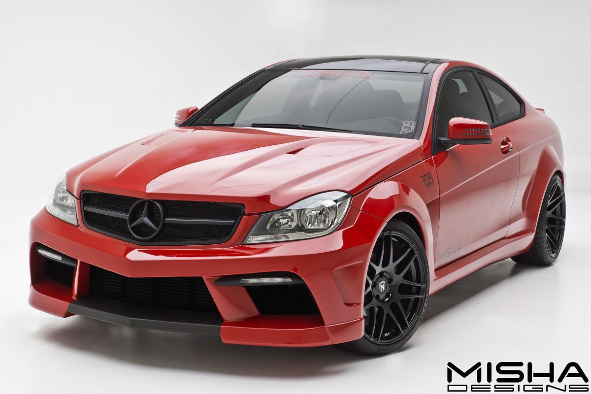 Misha Designs Reveals New Mercedes C Class Kit Autoevolution