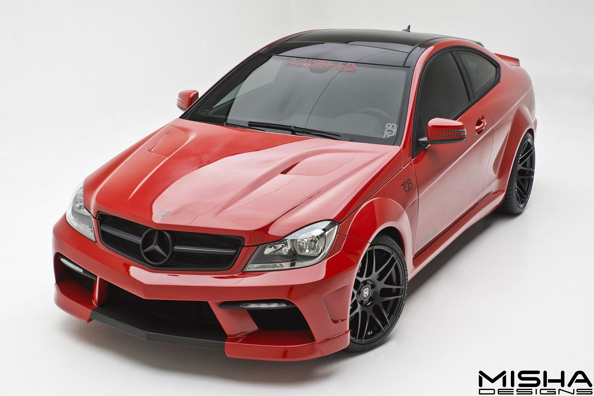 Misha designs reveals new mercedes c class kit autoevolution for Mercedes benz auto body