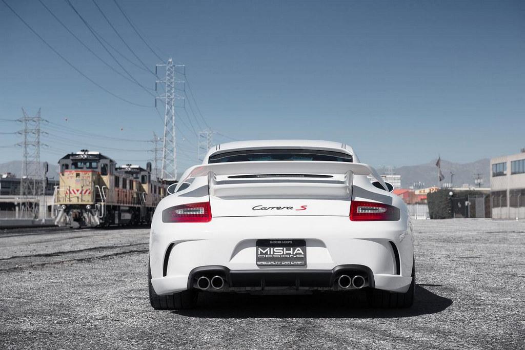 Misha Designs Introduces Porsche 997 Body Kit Video