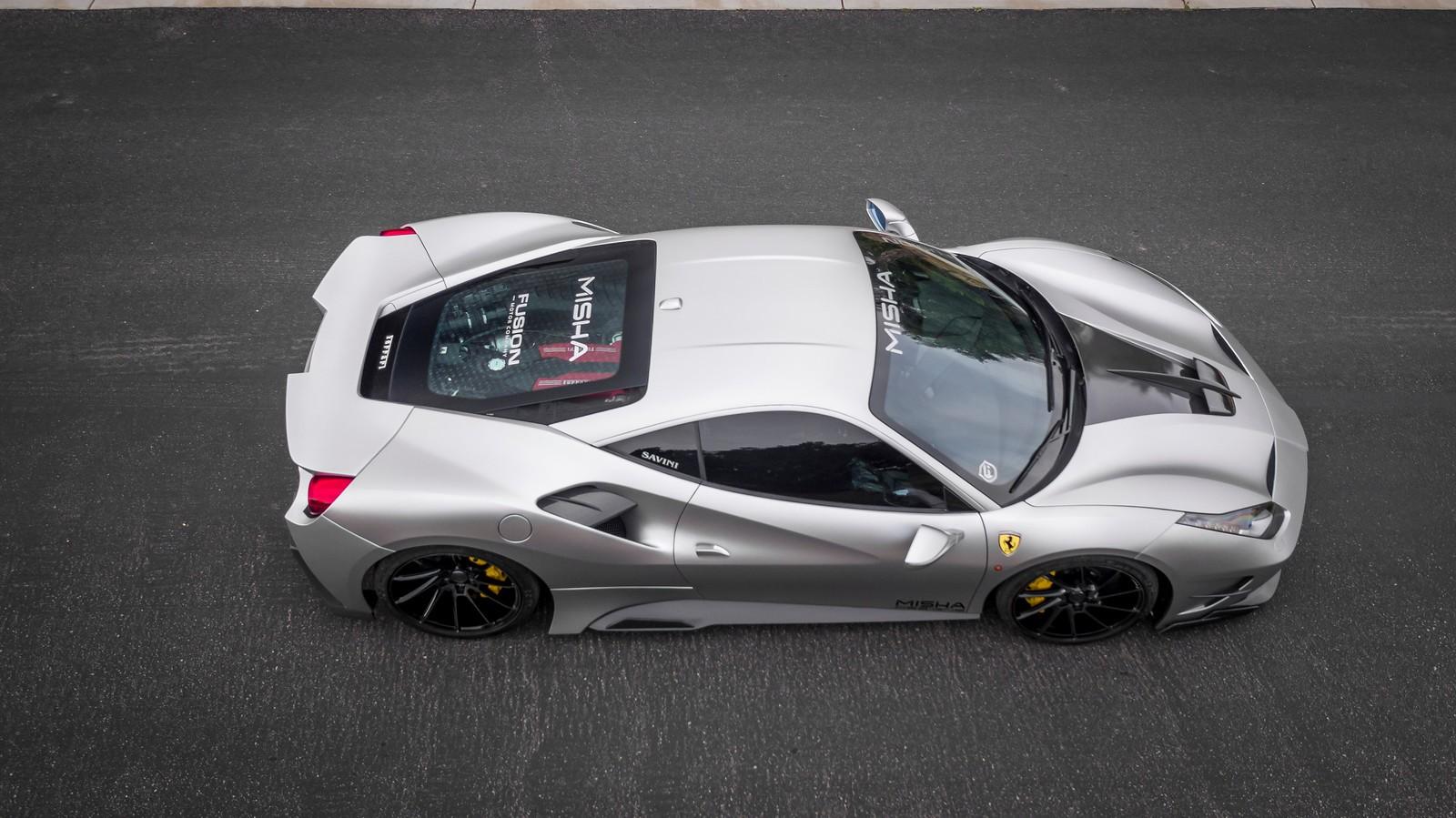 Auto Add Ons >> Misha Designs Launches Aggressive Body Kit For Ferrari 488 GTB - autoevolution