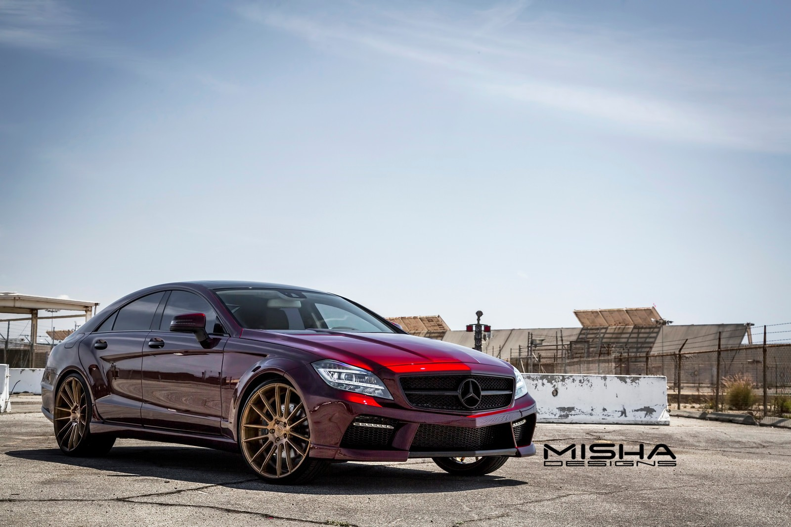 Misha designs takes a look back at its mercedes benz cls for Looking for used mercedes benz