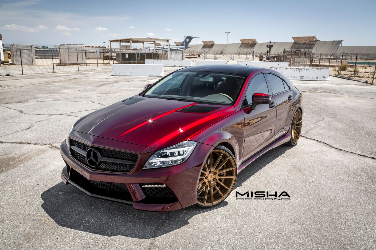 Misha designs takes a look back at its mercedes benz cls for Mercedes benz body kit