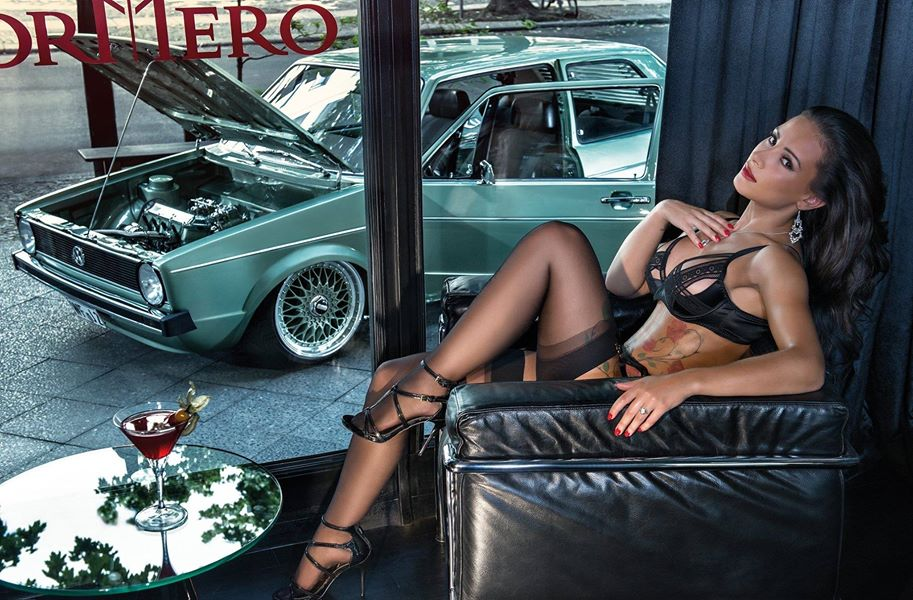 Miss Tuning 2016 Calendar Features Sexy Brunette Liane