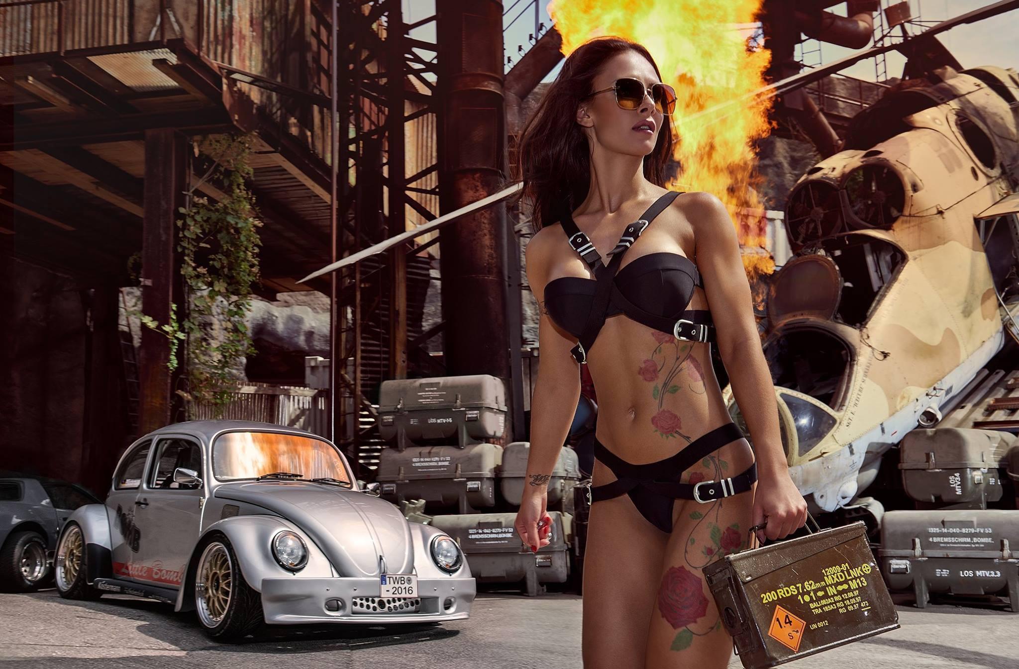 Miss Tuning 2016 Calendar Features Sexy Brunette Liane Gunter ...