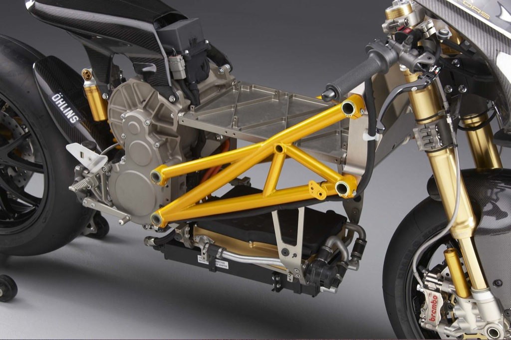 New Mission Motors R Electric Superbike On Track