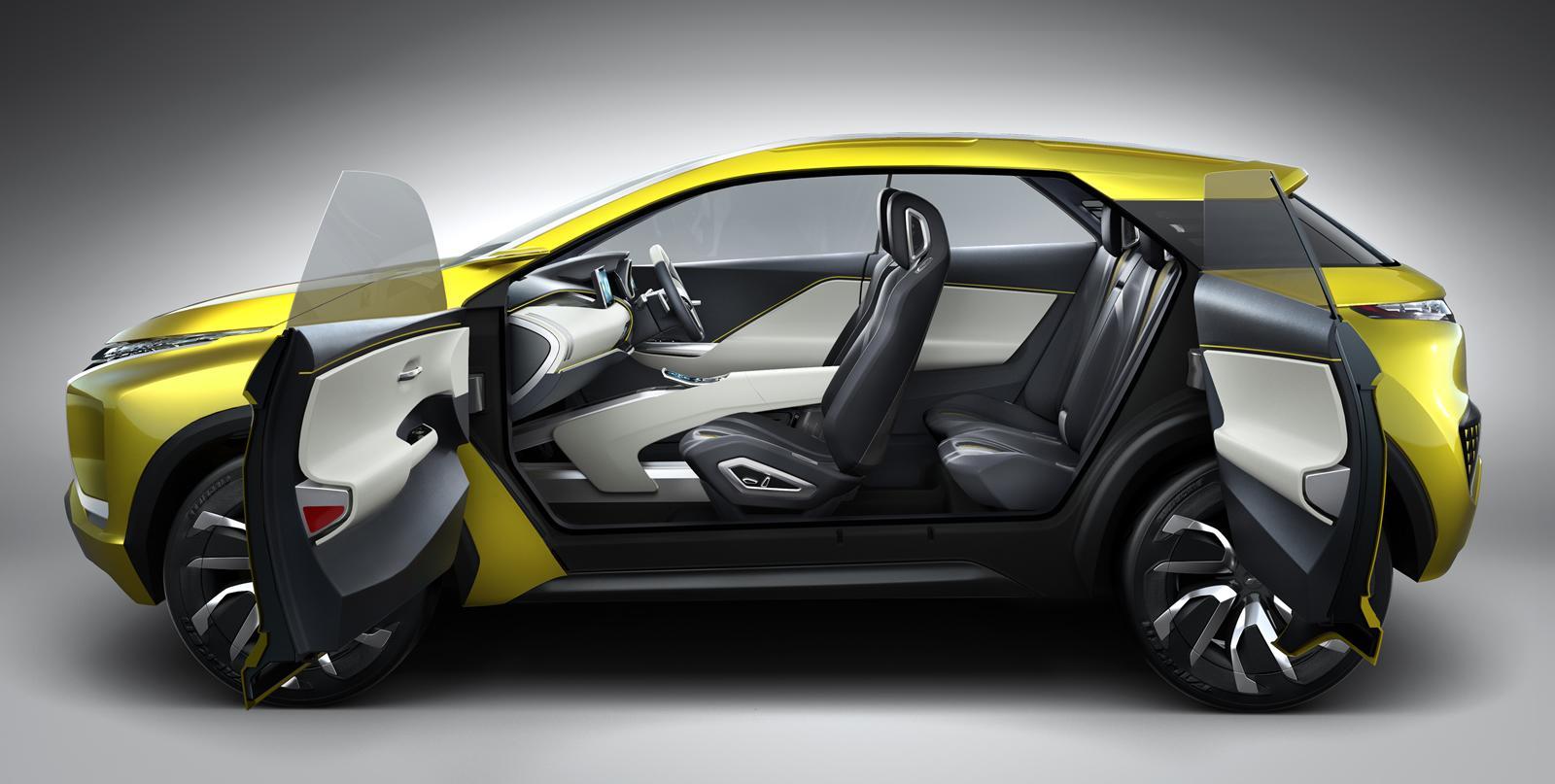 Mitsubishi Commits to Electric SUVs with Tokyo eX Concept Car - autoevolution