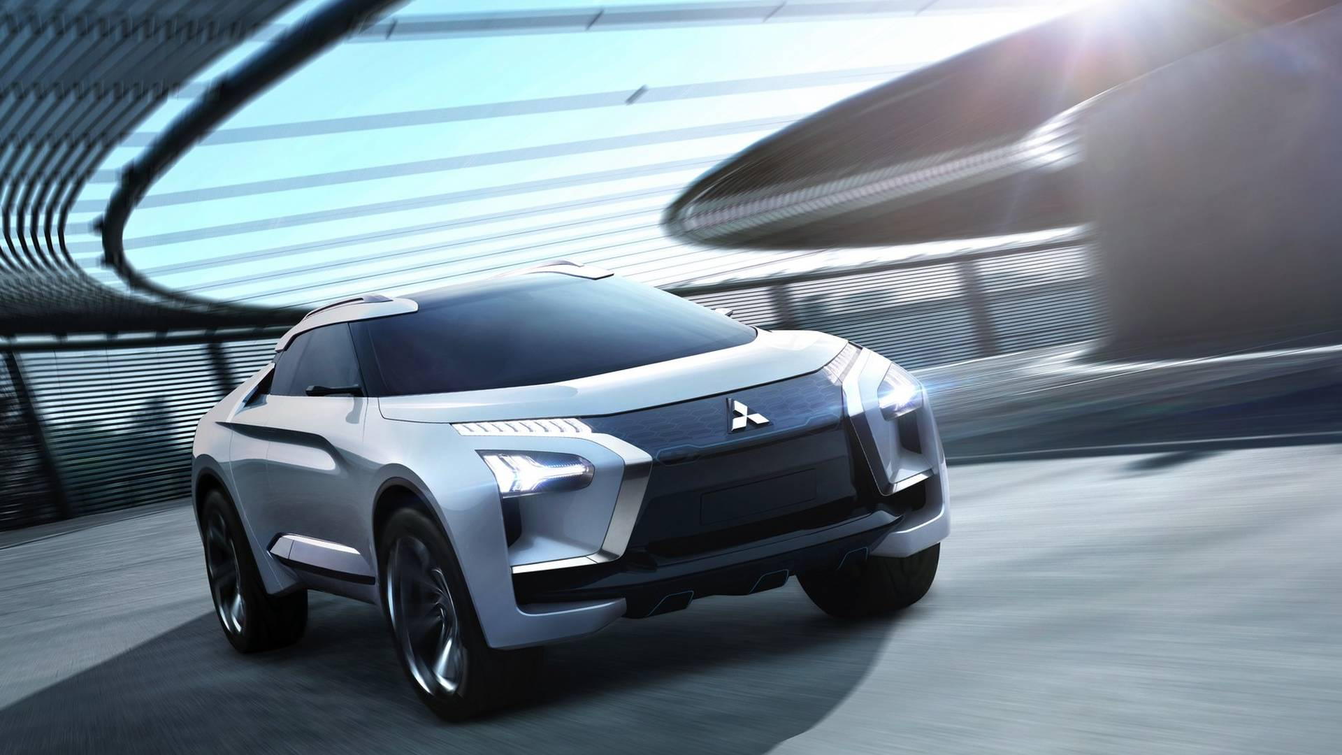 Mitsubishi e-Evolution Concept Is the Evo's Crossover ...