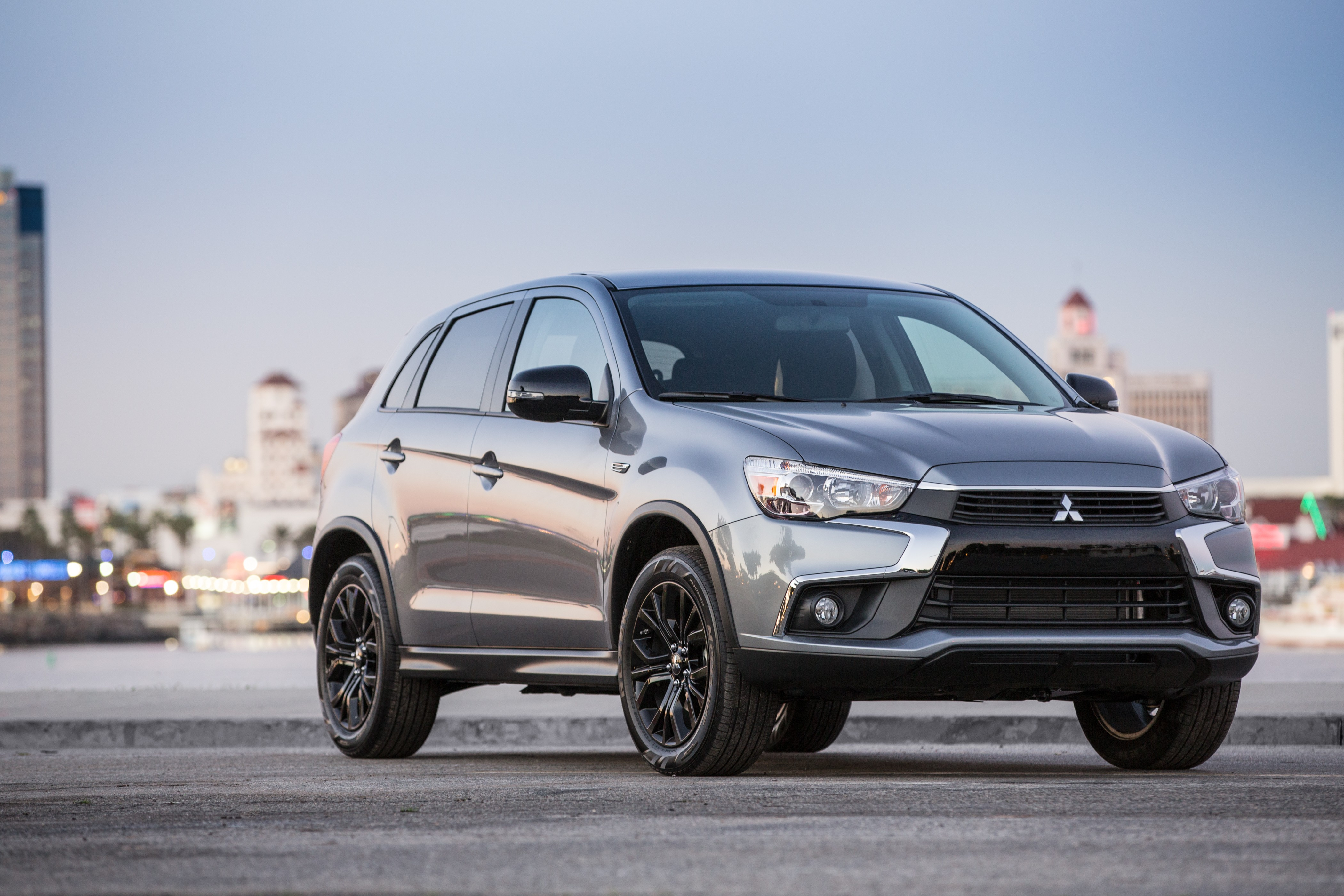 mitsubishi confirms cuv coupe for 2017 will slot above. Black Bedroom Furniture Sets. Home Design Ideas