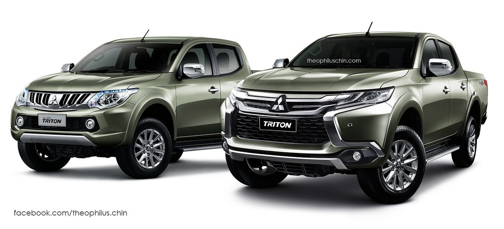 Mitsubishi L200/Triton Wearing Pajero Sport's Face Makes One Badass Pickup Truck - autoevolution