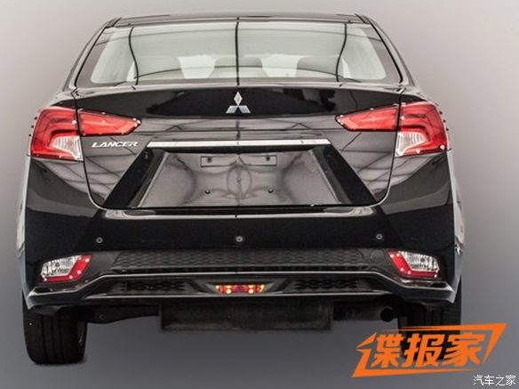 2018 mitsubishi lancer. wonderful mitsubishi mitsubishi lancer gets drastic facelift in china looks like the  outlander and 2018 mitsubishi lancer