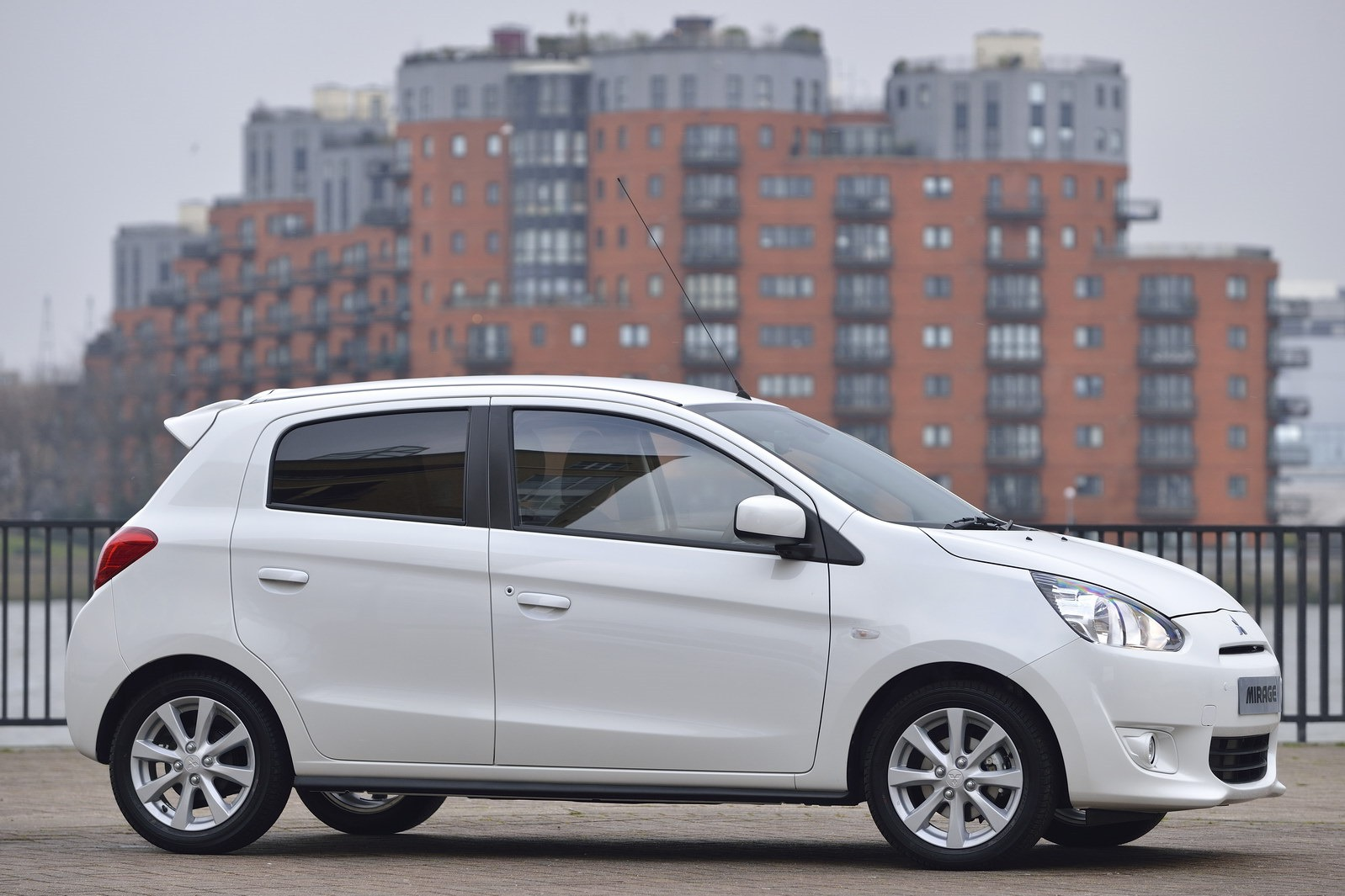 mitsubishi mirage in uk with right hand drive