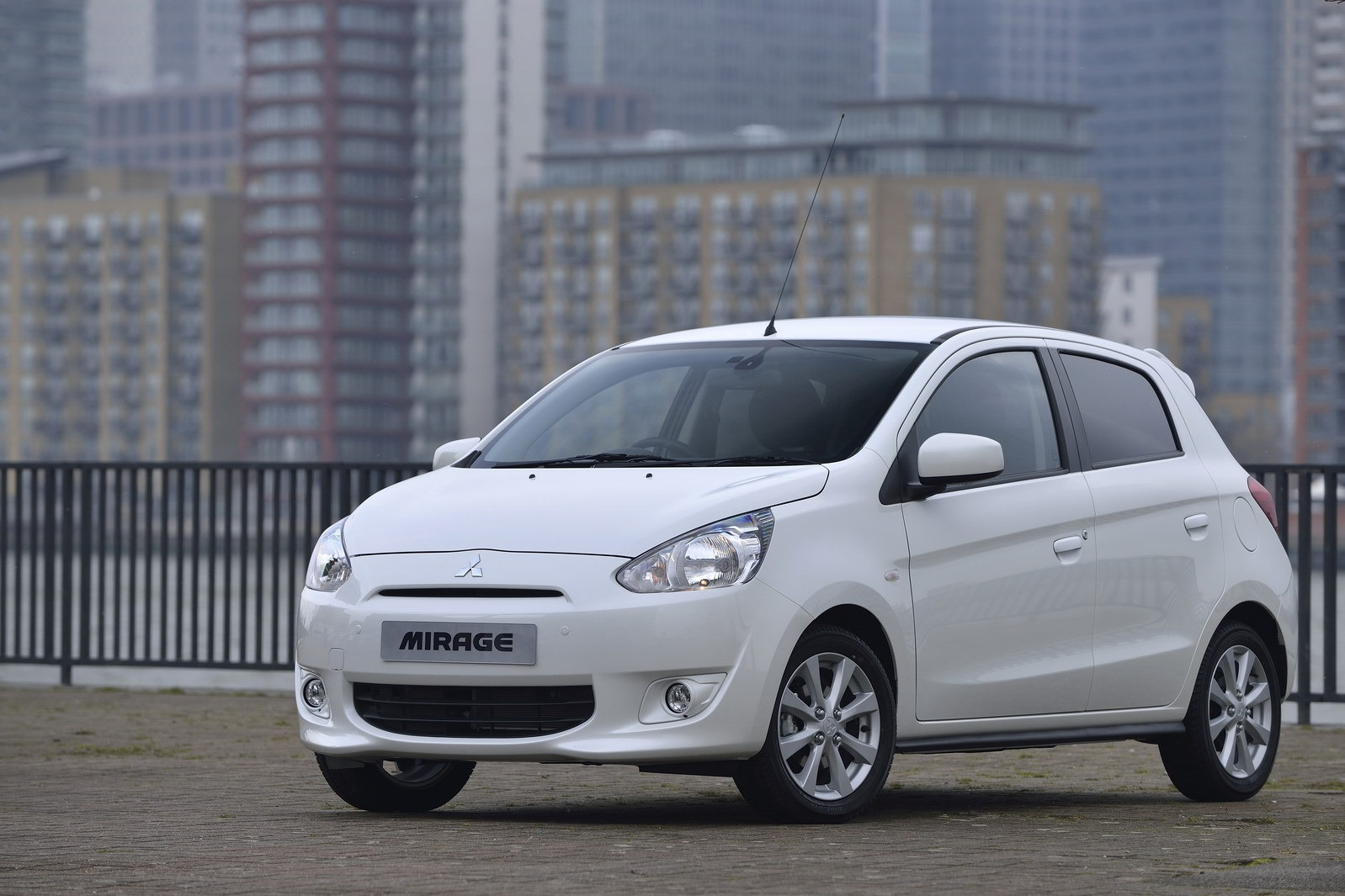 mitsubishi mirage uk prices and specs announced. Black Bedroom Furniture Sets. Home Design Ideas