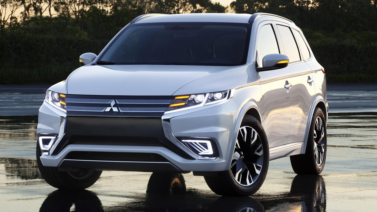 Mitsubishi Outlander Phev Concept S Previewed Ahead Of