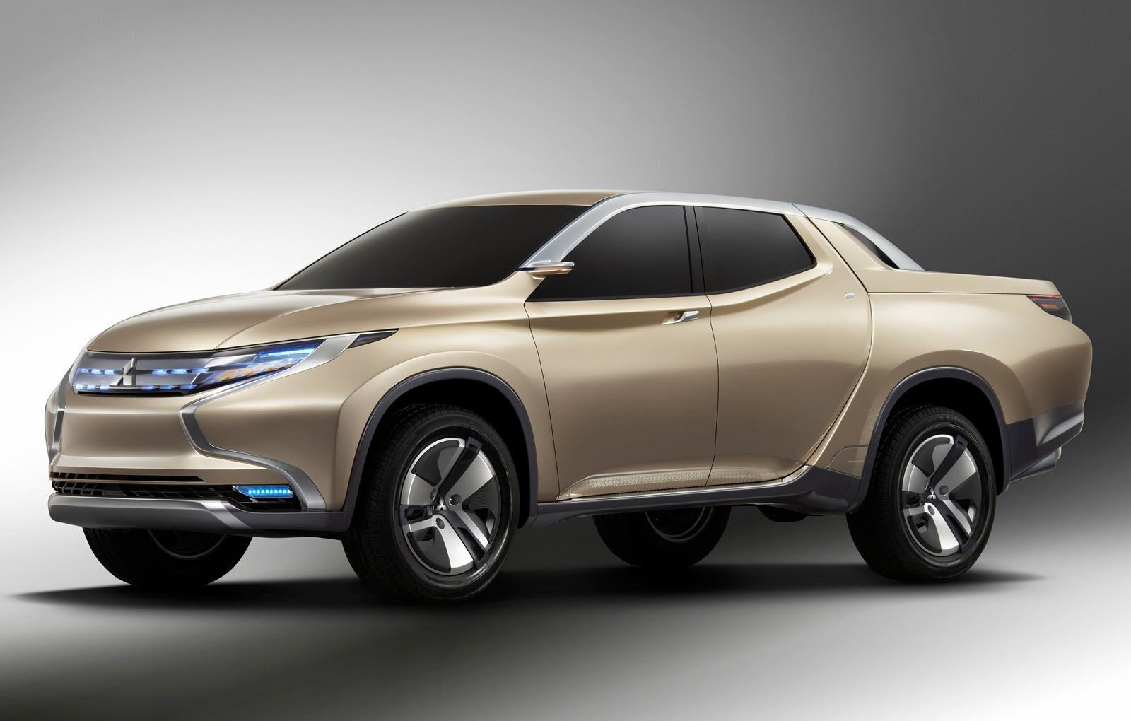 mitsubishi previews new l200 with hybrid pickup concept. Black Bedroom Furniture Sets. Home Design Ideas