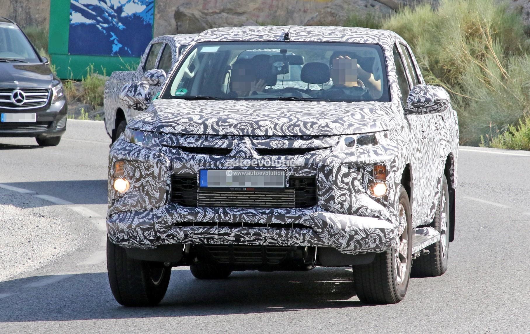 Mitsubishi Will Debut New L200 Pickup Truck In November 2018