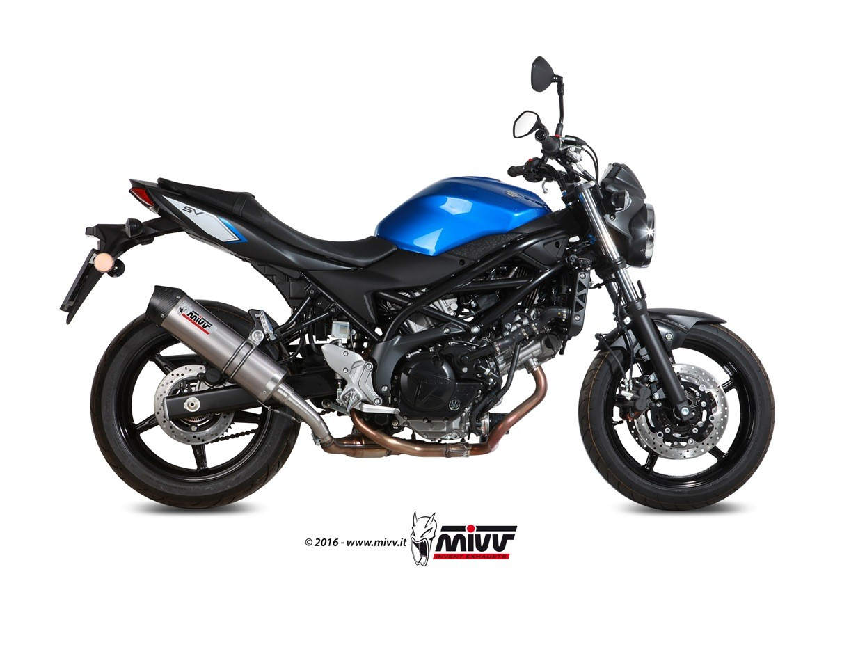 mivv unveils new exhausts for bmw r1200r and suzuki sv650 autoevolution. Black Bedroom Furniture Sets. Home Design Ideas
