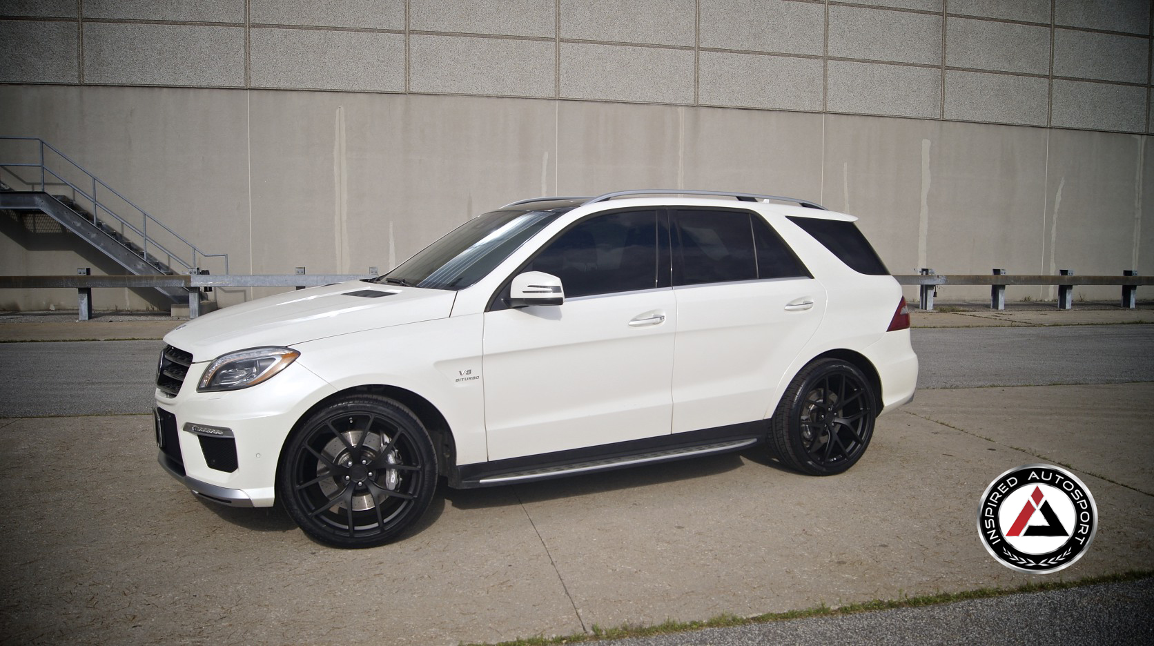 ML 63 AMG on PUR Wheels by Inspired Autosport - autoevolution