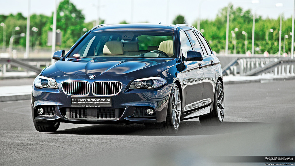 Mm Performance Transforms Bmw F11 535i Touring Autoevolution