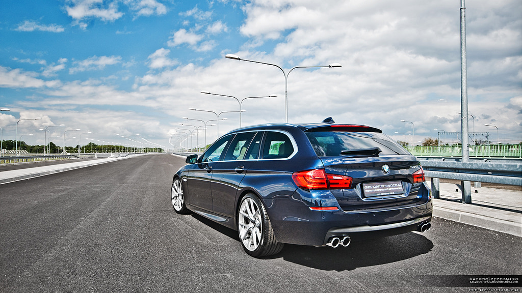 mm performance transforms bmw f11 535i touring autoevolution. Black Bedroom Furniture Sets. Home Design Ideas