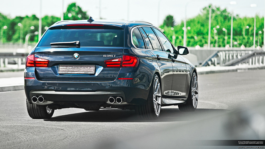 MM Performance Transforms BMW F11 535i Touring - autoevolution