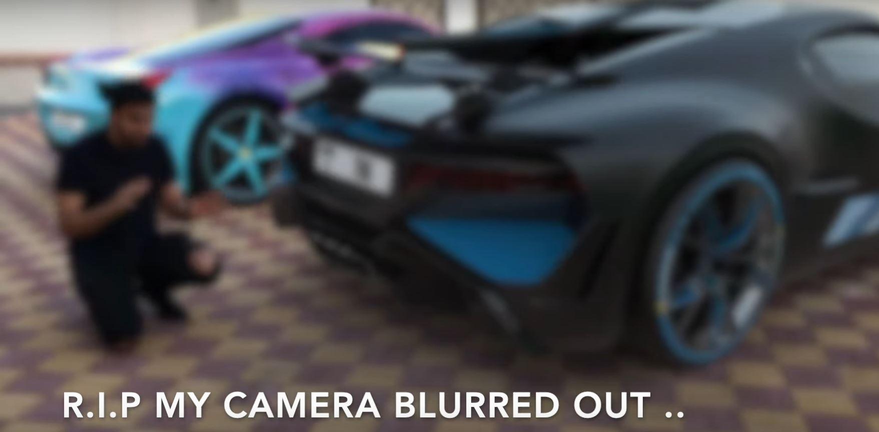 Bugatti Divo Crash Supercars Gallery