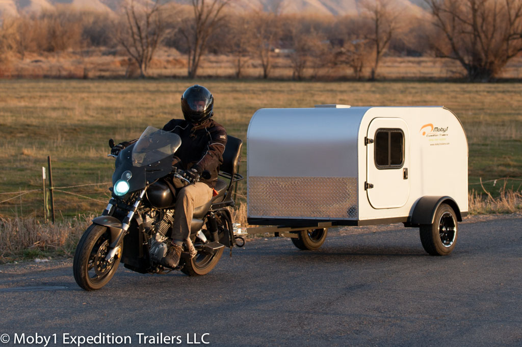 Moby1 C2 Trailer Motorcycle Touring At The Next Level