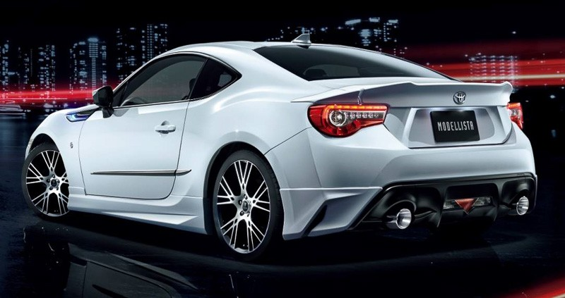 New Wave Auto >> 2017 Toyota GT 86 Gets Modellista Body Kit in Japan - autoevolution