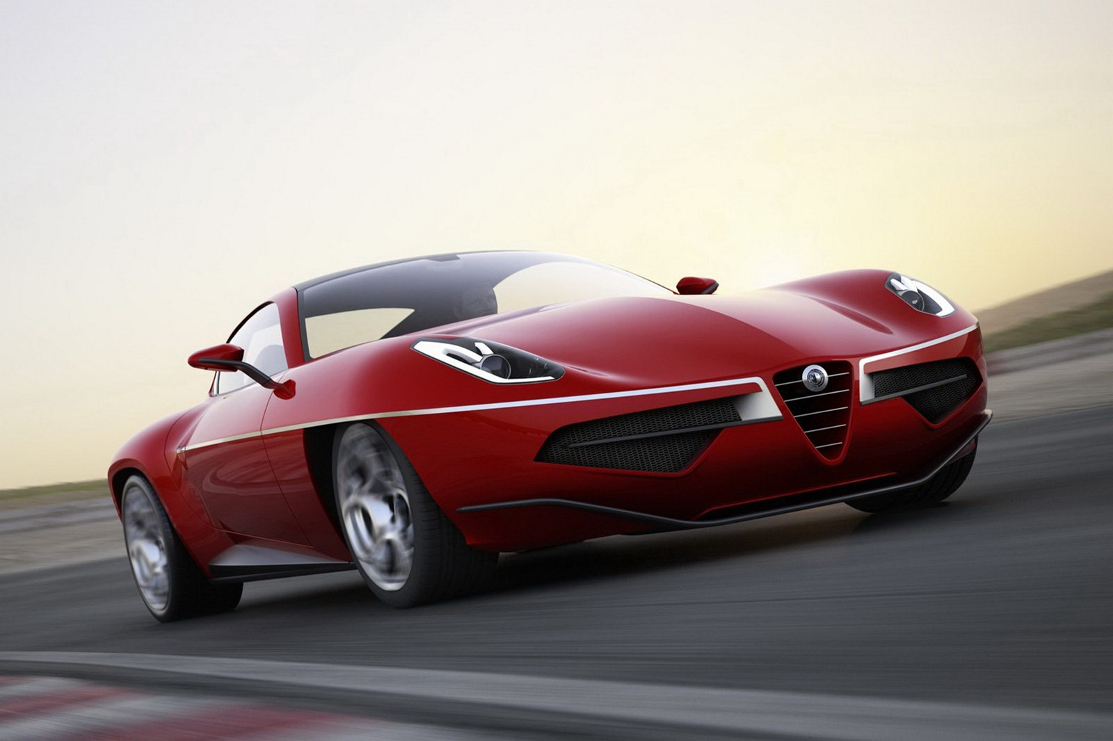 modern alfa romeo disco volante revealed autoevolution. Black Bedroom Furniture Sets. Home Design Ideas