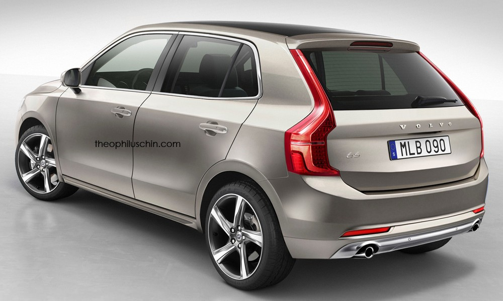 Modern Day Volvo 66 Rendered with Skoda Fabia as Base - autoevolution