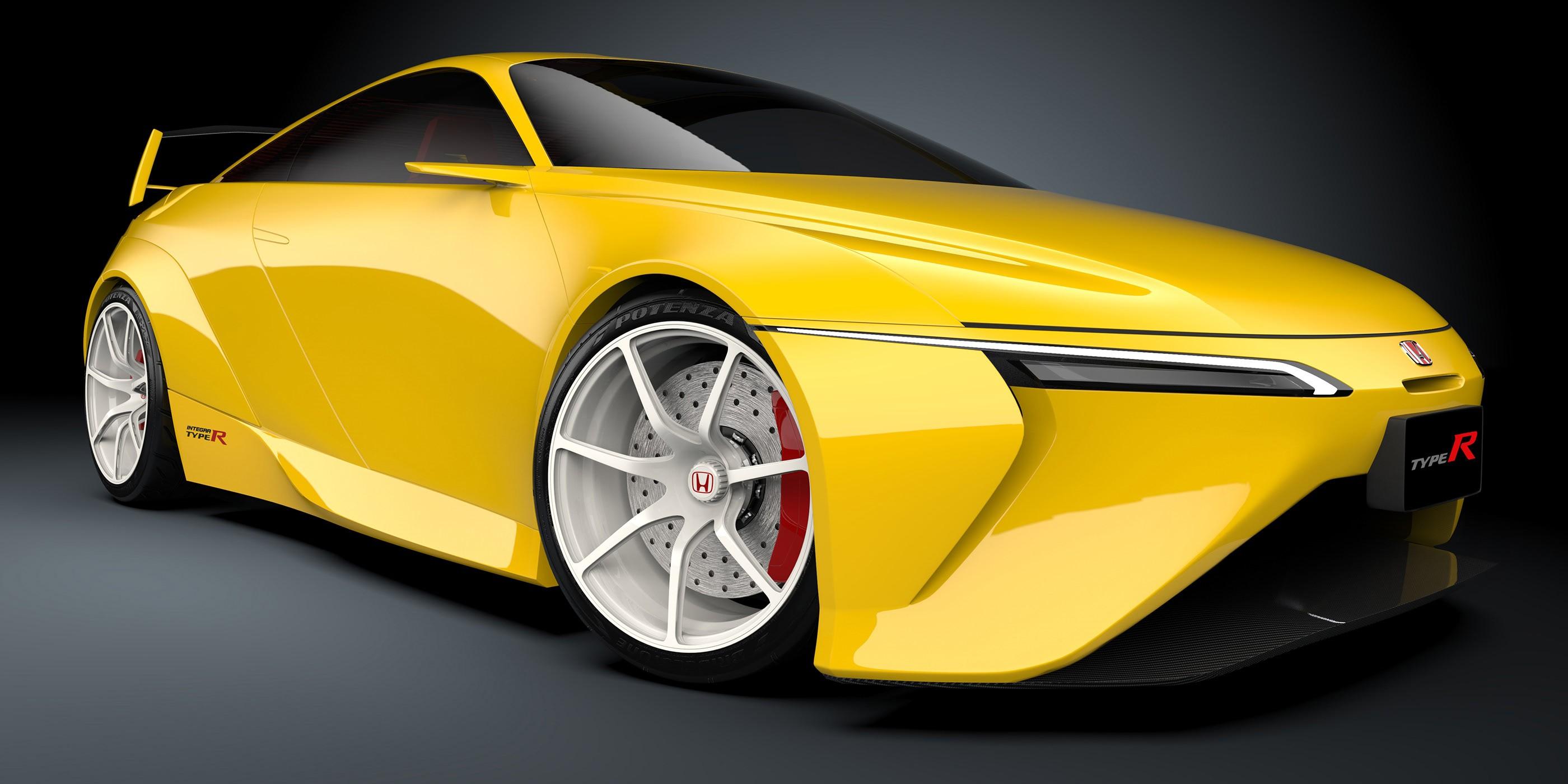 Modern Honda Integra Type R Rendering Shows Long Overdue Jdm Goodness Autoevolution
