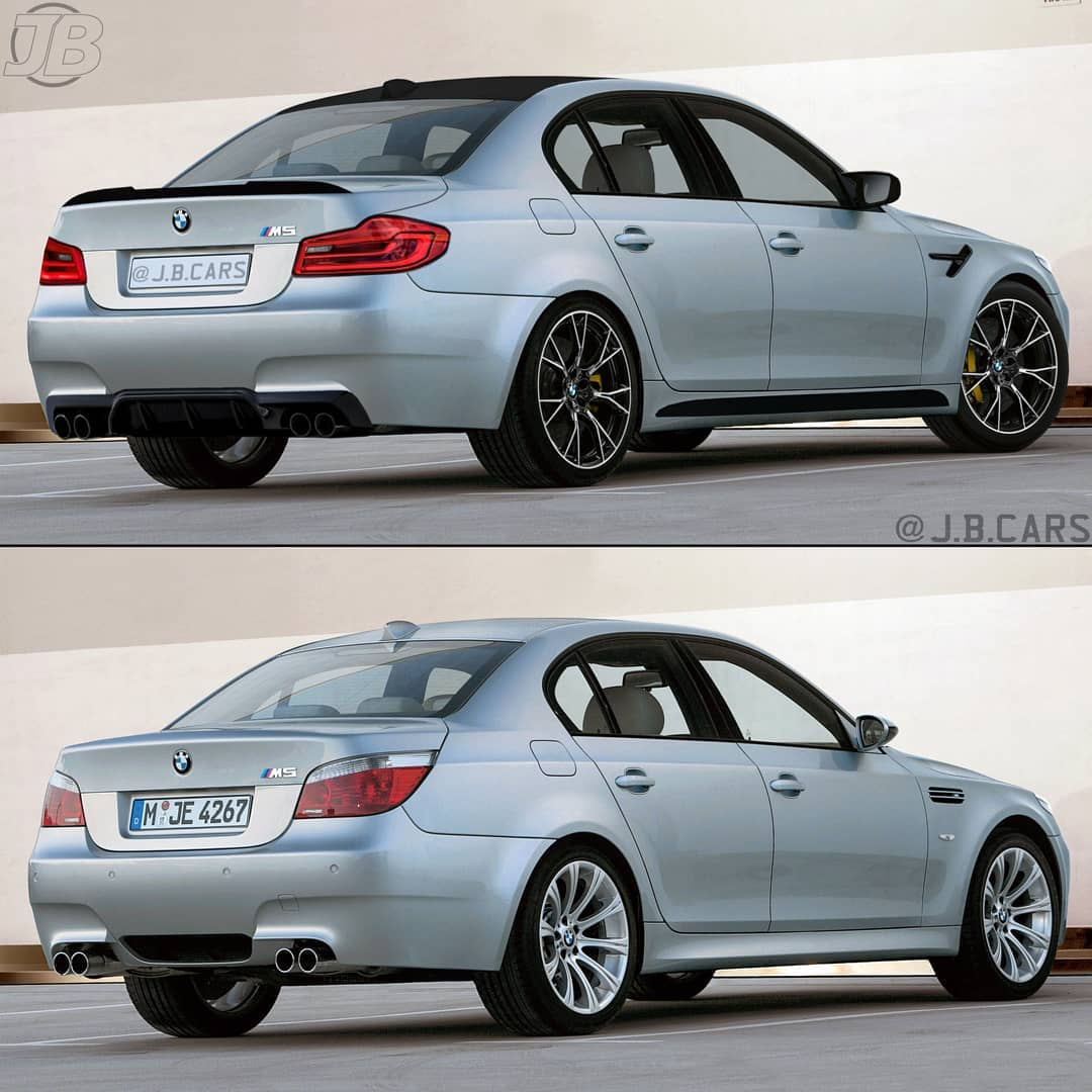 Modernized Bmw M5 E60 Looks Sharp Has Sleek Taillights Autoevolution