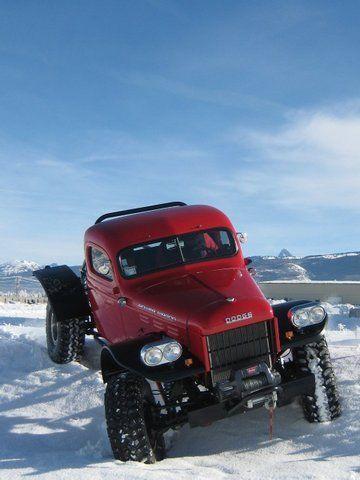 Modernized Dodge Power Wagon Wants to Take You Anywhere ...