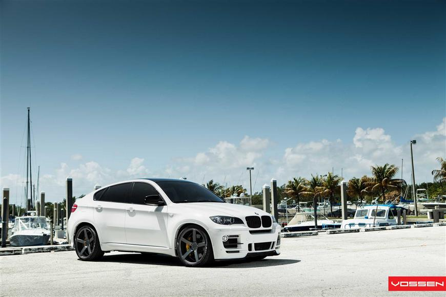 Modified Bmw X6 On Vossen Concave Wheels Video