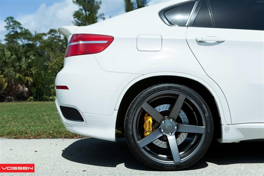 Modified Bmw X6 On Vossen Concave Wheels Video Autoevolution