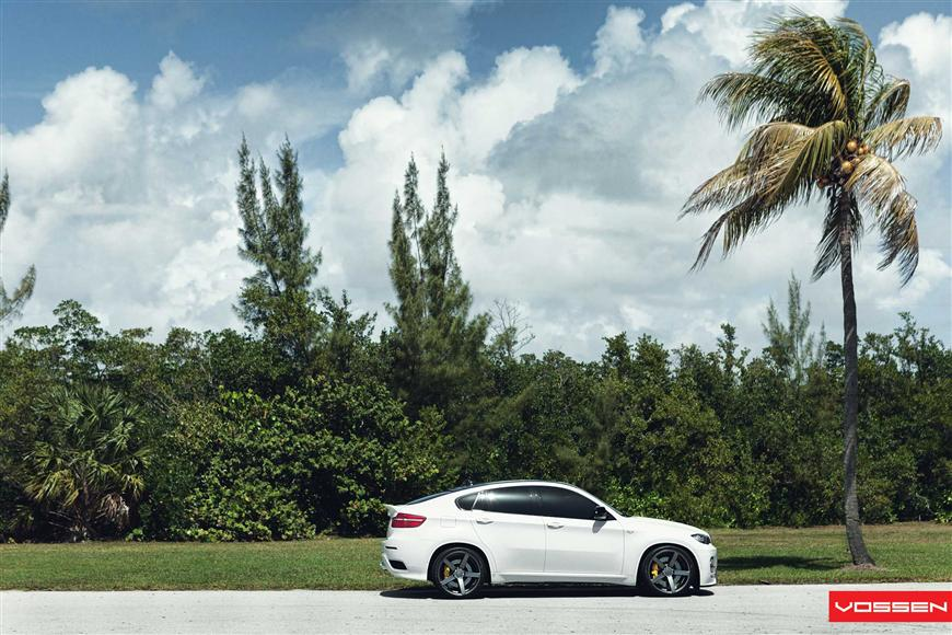 Modified bmw x6 on vossen concave wheels video photo gallery