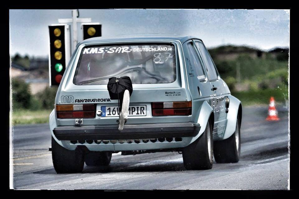 Monster 1000 HP Golf Mk1 Hits 280 KM/H in 8.8 Seconds - autoevolution