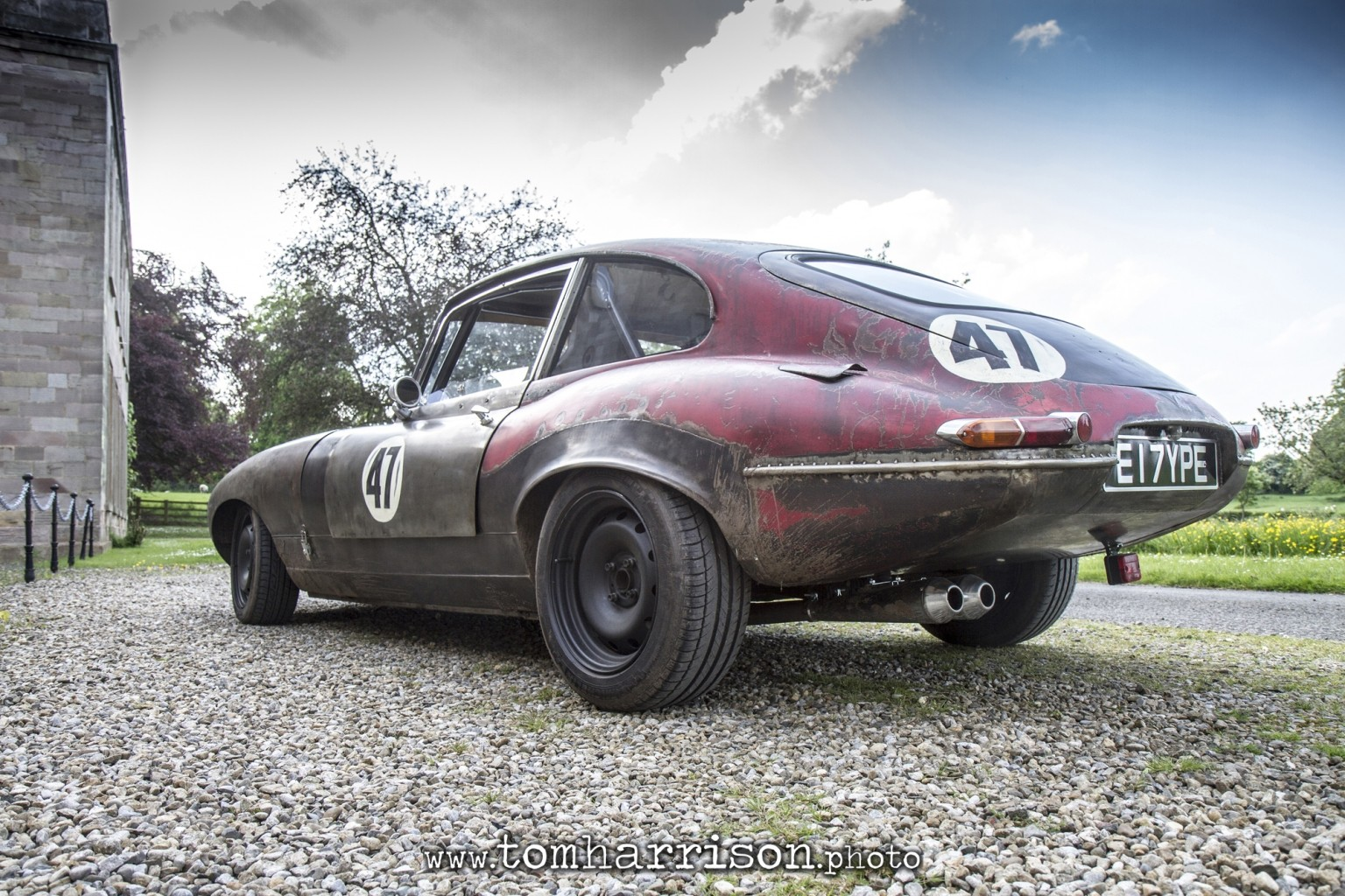 Monstrous E Type Is The Name Of An English Cat With Rat Rod Mods Photo Gallery