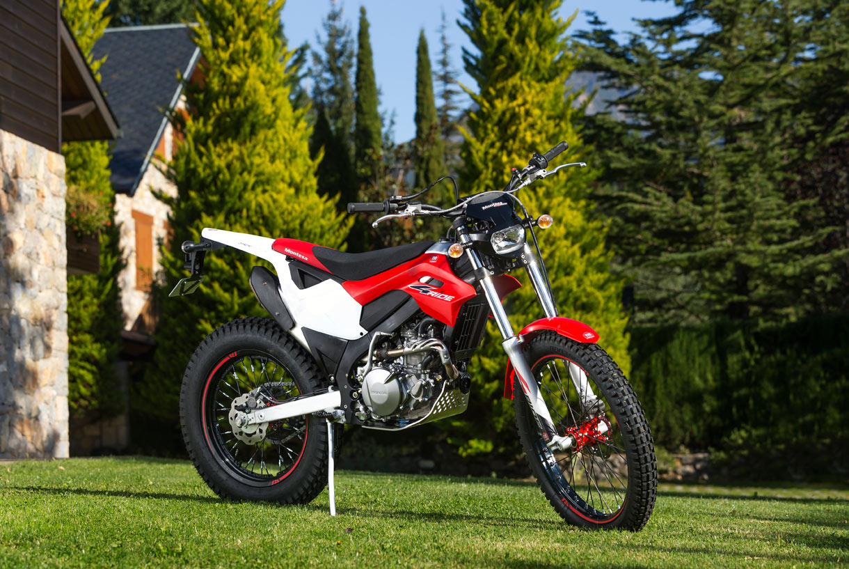 Montesa 4ride Is A Fantastic Go Anywhere Street Legal