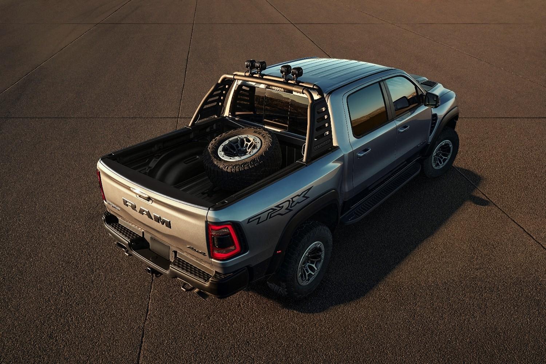 Mopar Accessories For 2021 Ram Trx Include Off Road Rock Rails Bed Tire Carrier Autoevolution