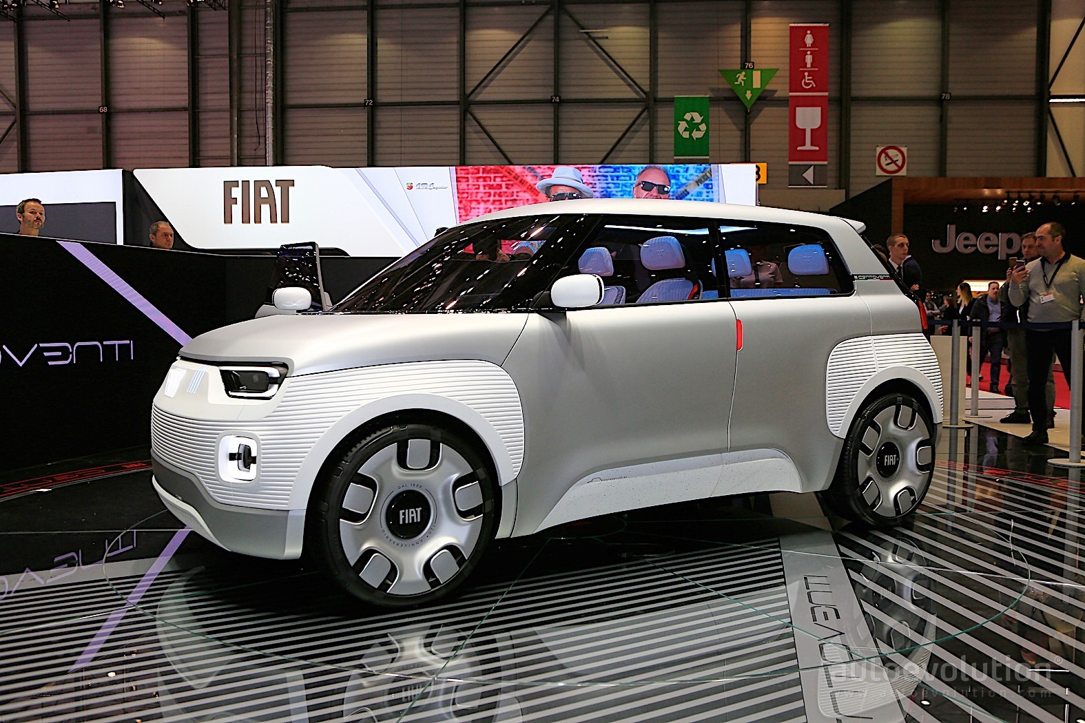 mopar backed fiat centoventi is the epitome of modularitywith the centoventi concept now on display at the geneva motor show, fiat plans to change that in essence, the company intends to build a car as simple as