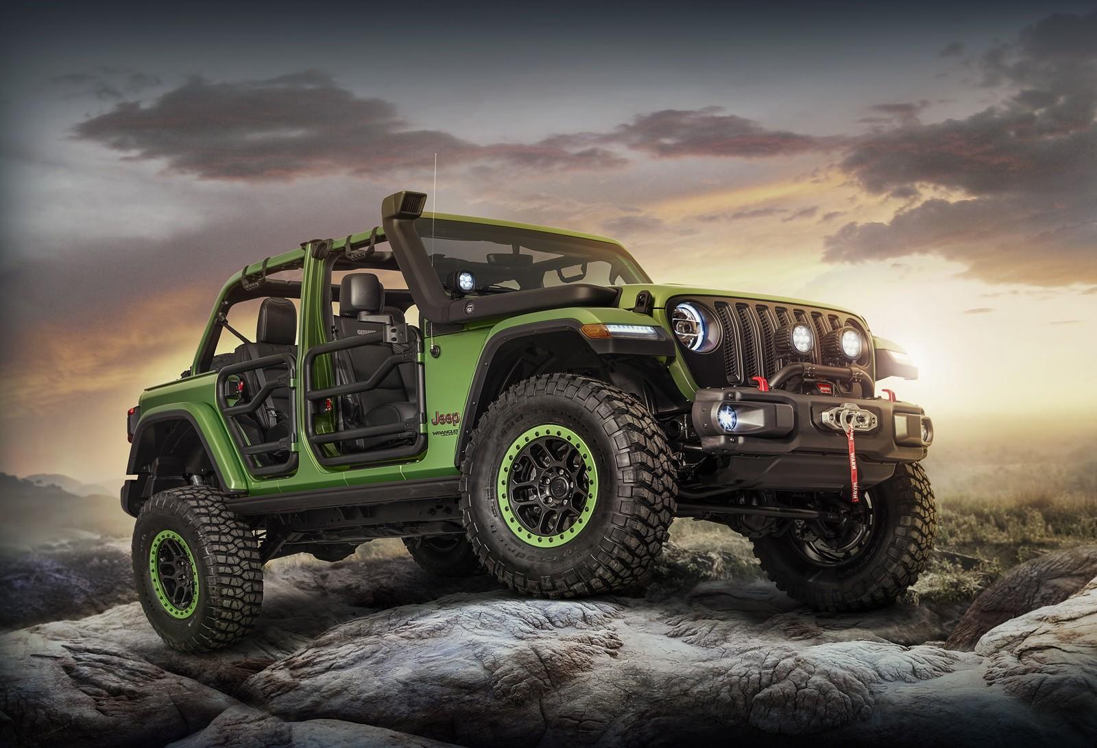 jeep wrangler renegademopar presented - autoevolution