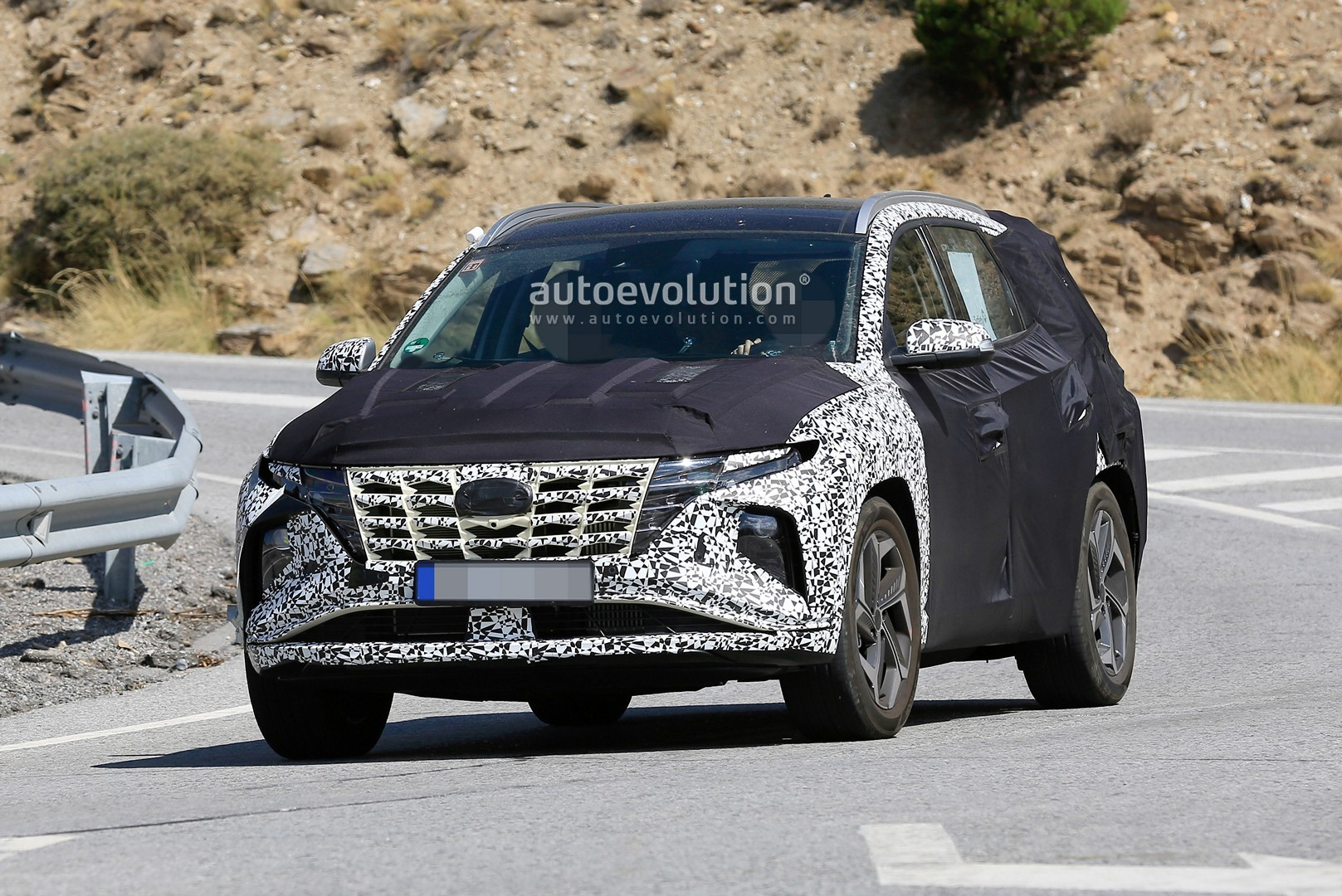2021 hyundai tucson comes alive in latest renderings